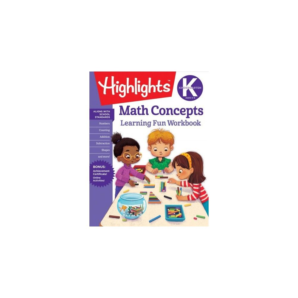 Math Concepts Kindergarten - (highlights Learning Fun