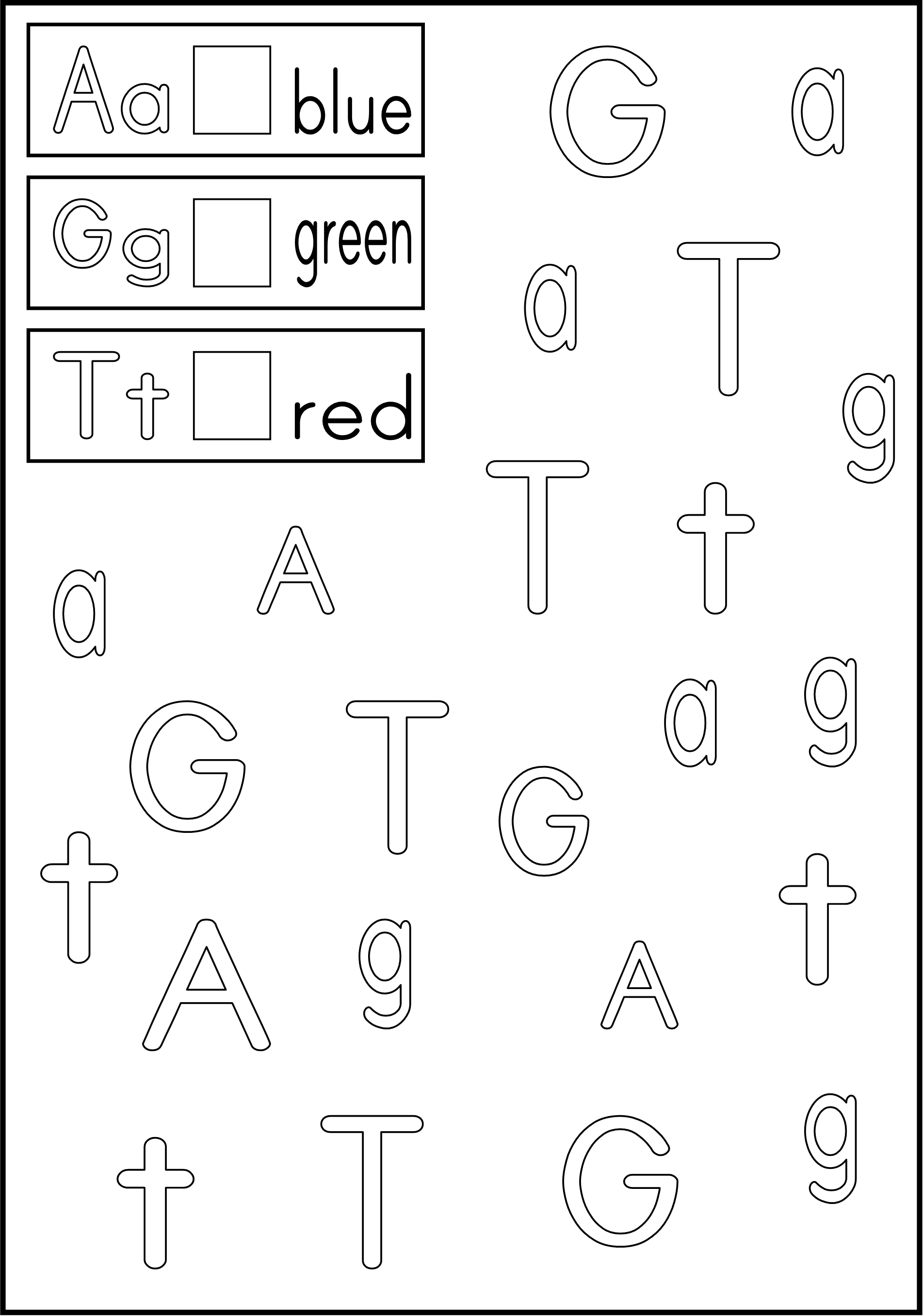 Color The Letter | Kindergarten Phonics/abc | Alphabet