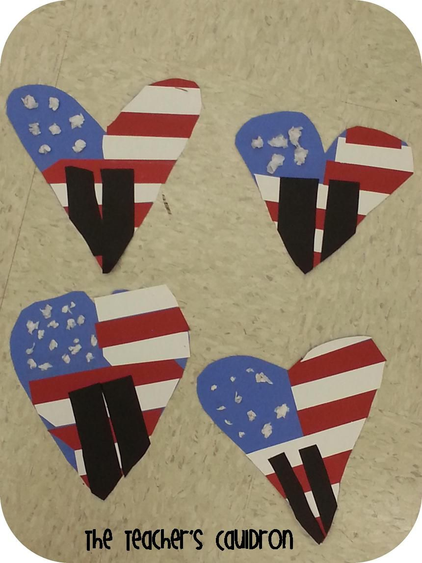 Adorable 9/11 Craft With The Twin Towers | Kindergarten