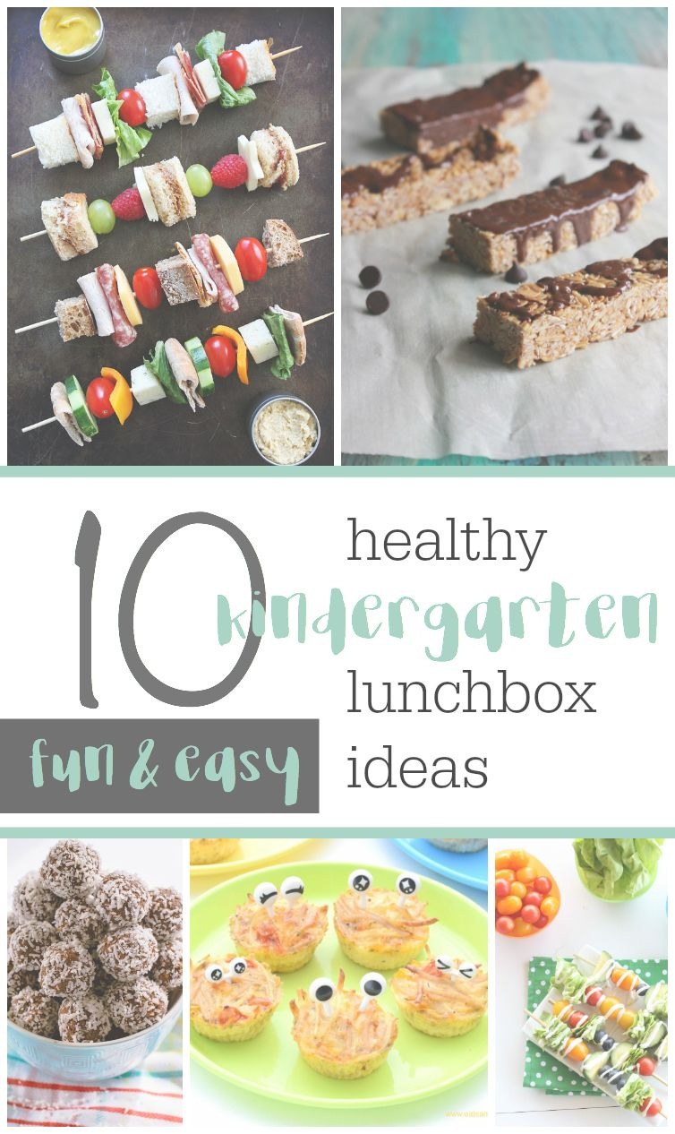 10 Fun & Easy Ideas For A Healthy Kindergarten Lunchbox