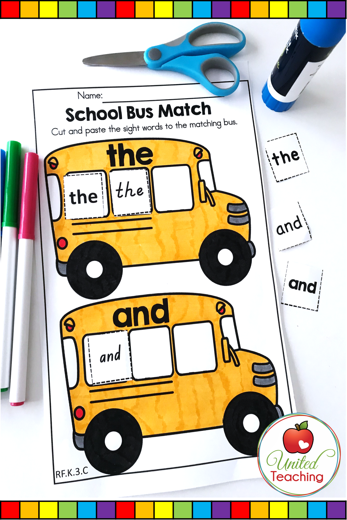 Teaching Kindergarten Students Sight Words Is Fun And Easy