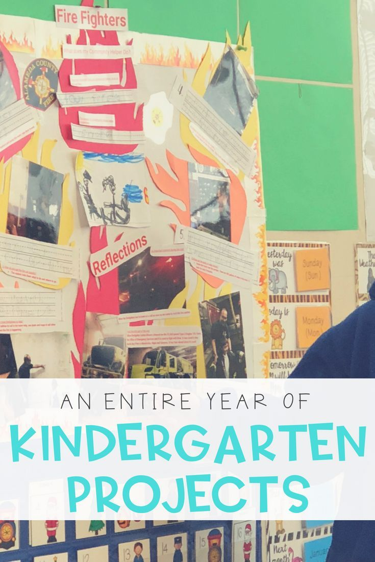 Kindergarten Projects For The Year   Sac Projects