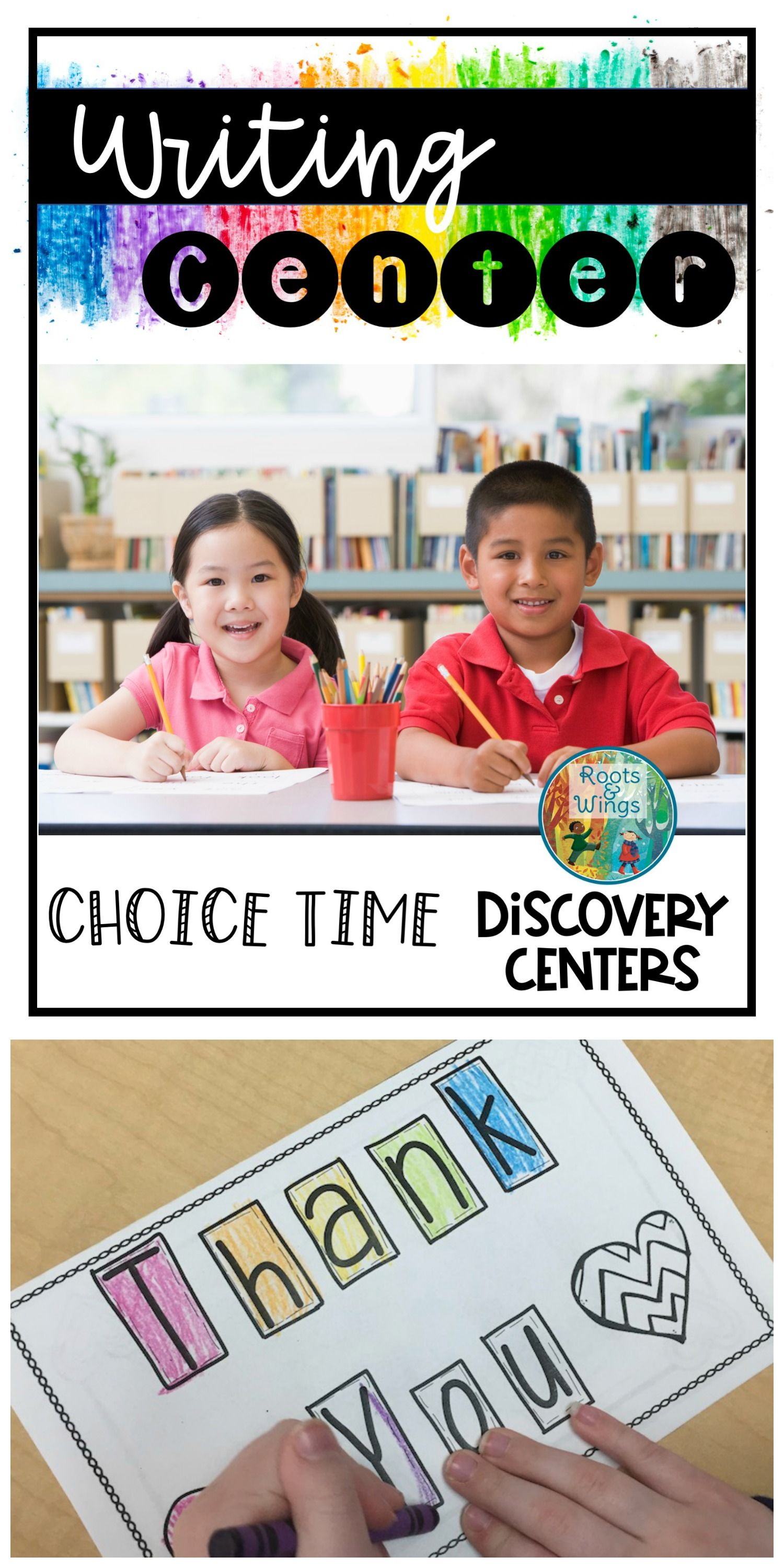 Choice Time Discovery Centers: Writing Center | Kindergarten