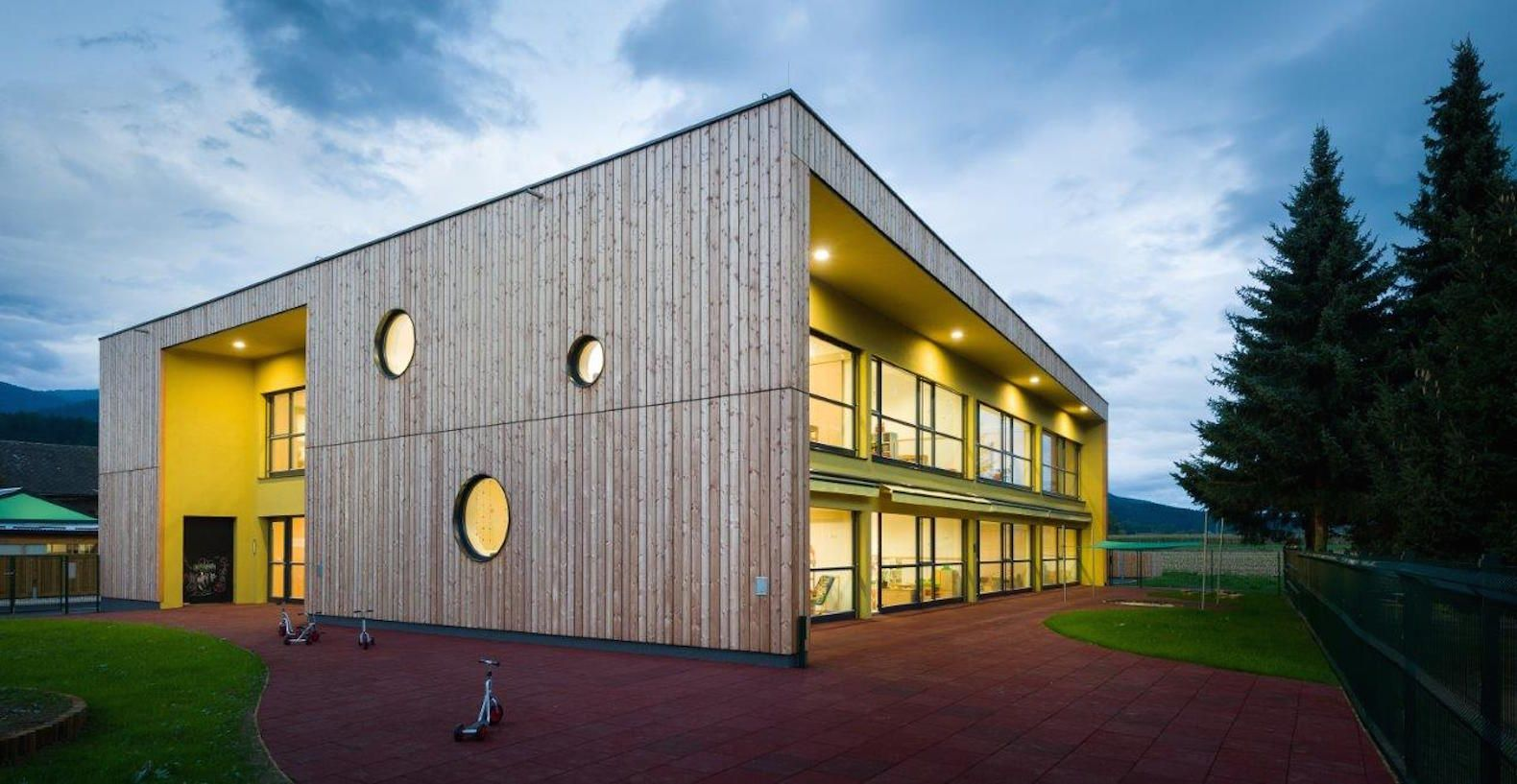 Beautiful Kindergarten Blends Sustainability And Play Into