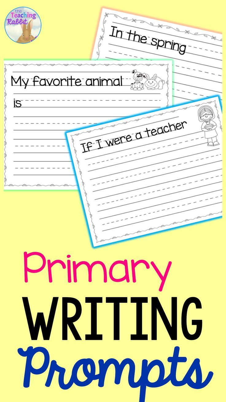 Primary Writing Prompts | Writing | Kindergarten Writing