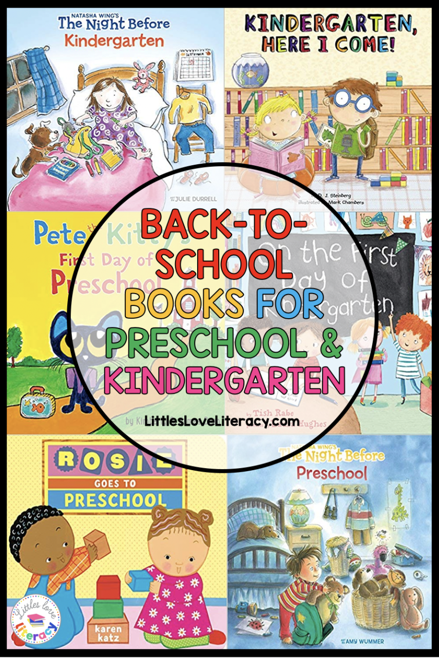 Back To School Books For Preschool And Kindergarten These