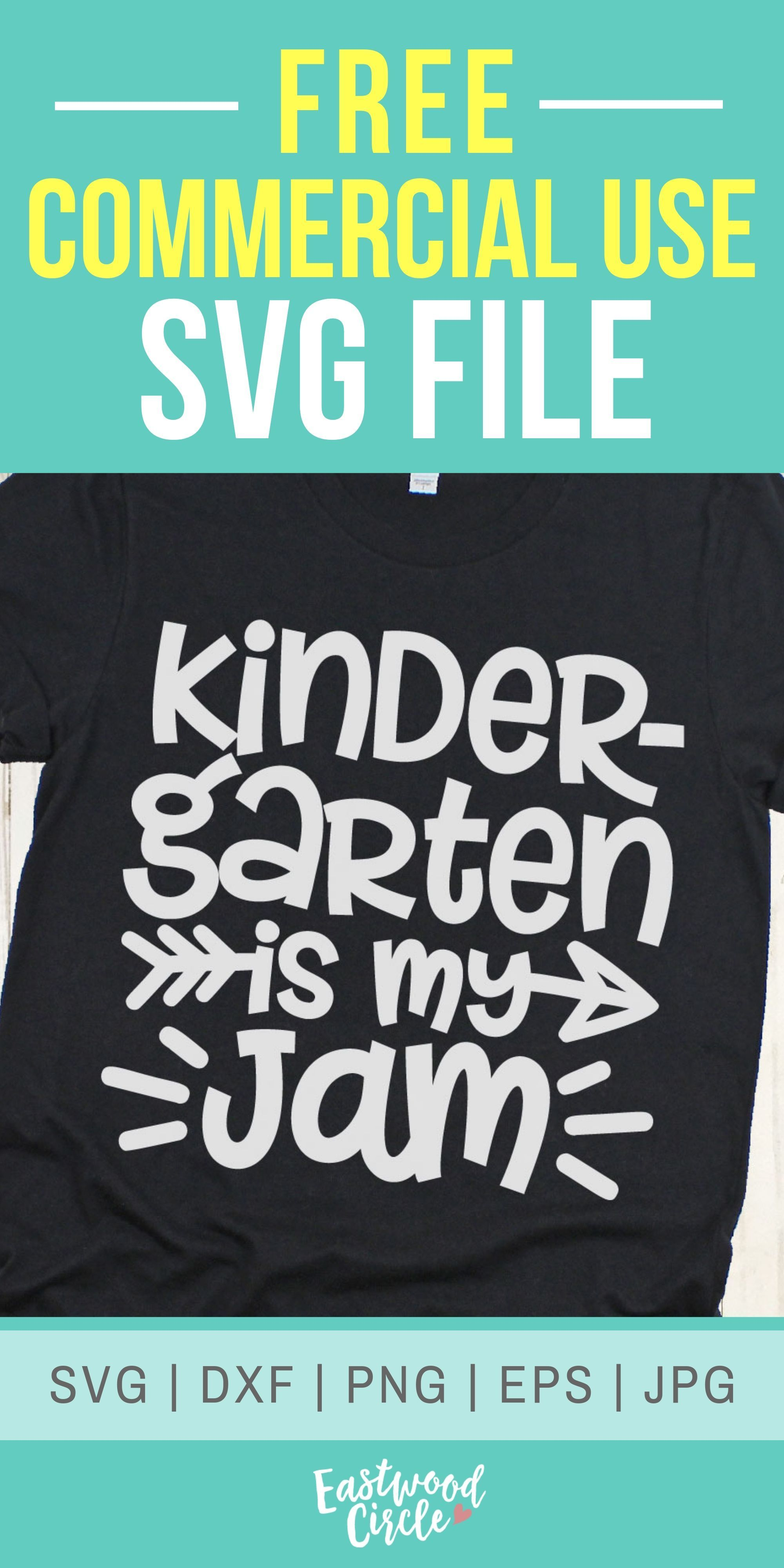 Kindergarten Is My Jam Svg, Kindergarten Svg, School Svg