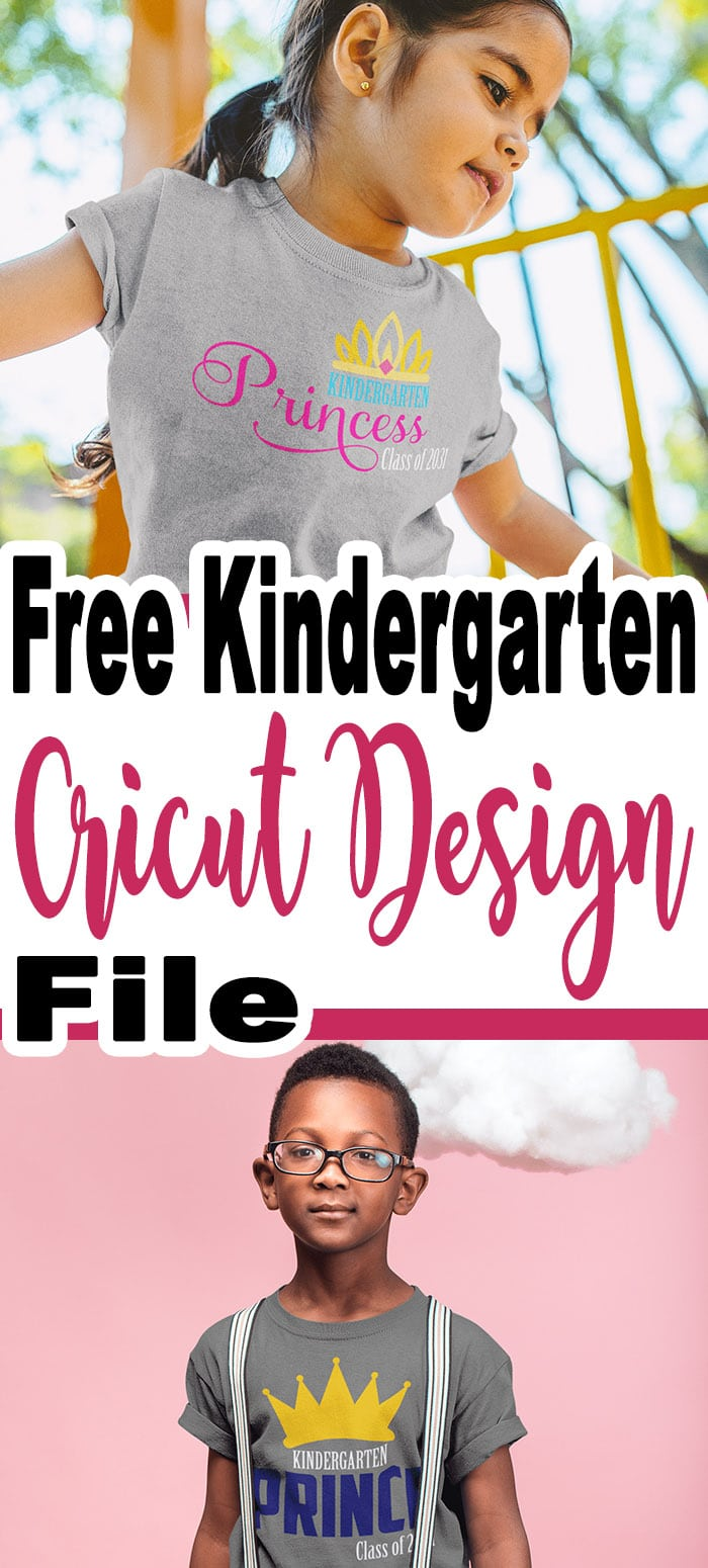 First Day Of Kindergarten: Free Svg Files For Cricut Design