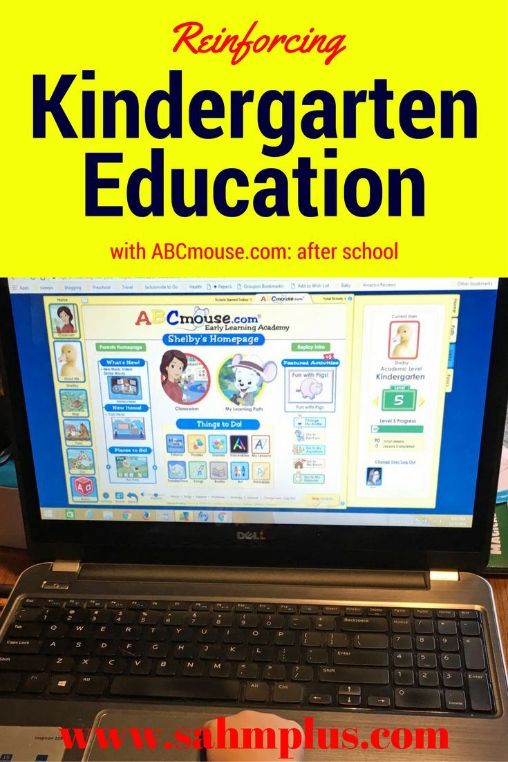 Kindergarten Education Can Be Reinforced At Home With