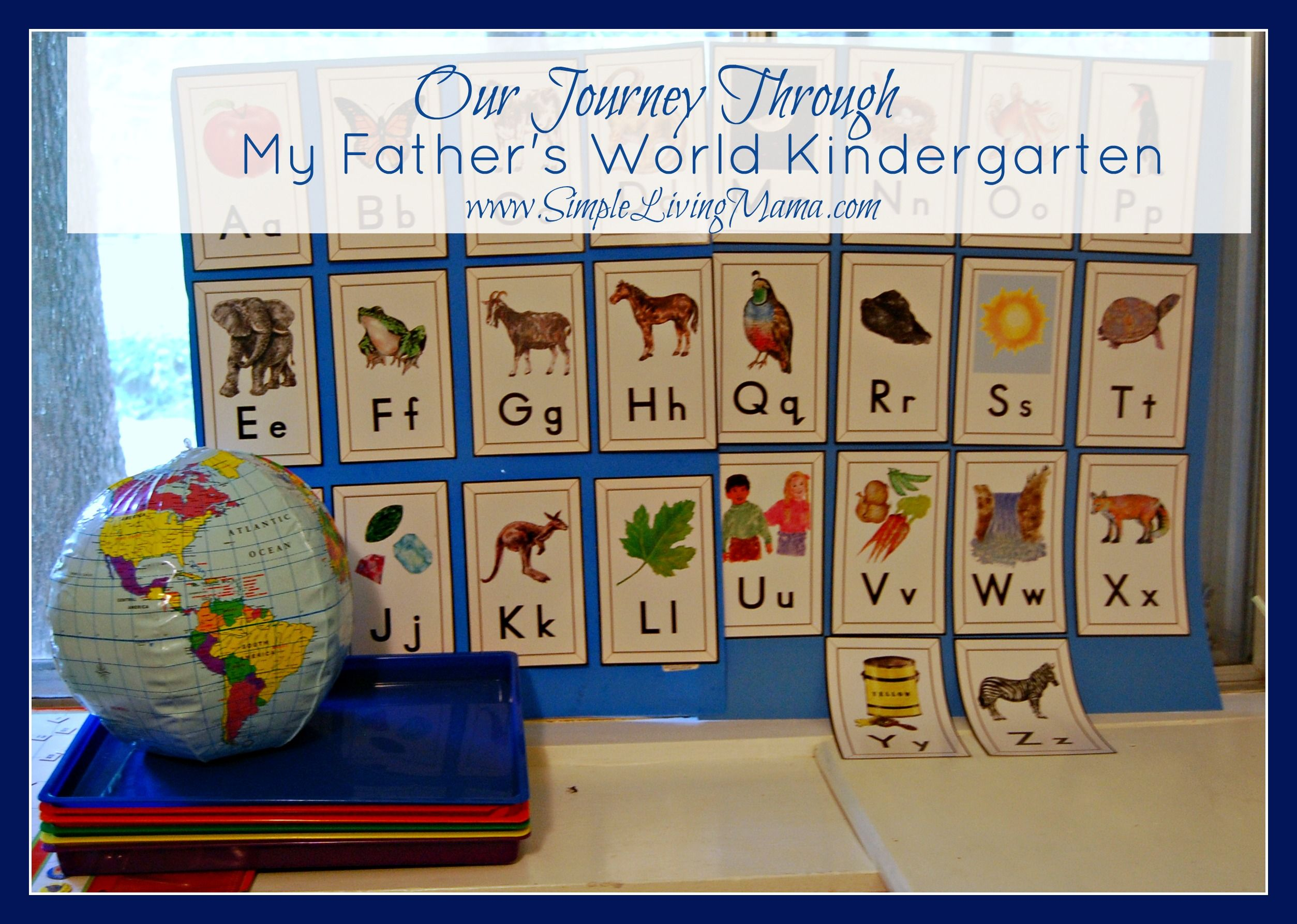 Supplements For My Father's World Kindergarten   Future