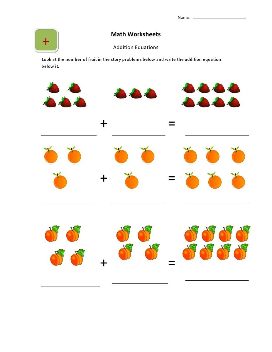 Online Worksheets For Kindergarten | Worksheets For 4-5