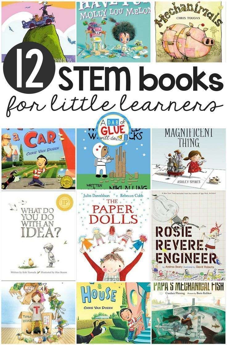 12 Stem Kindergarten Books For Little Learners | Science In The