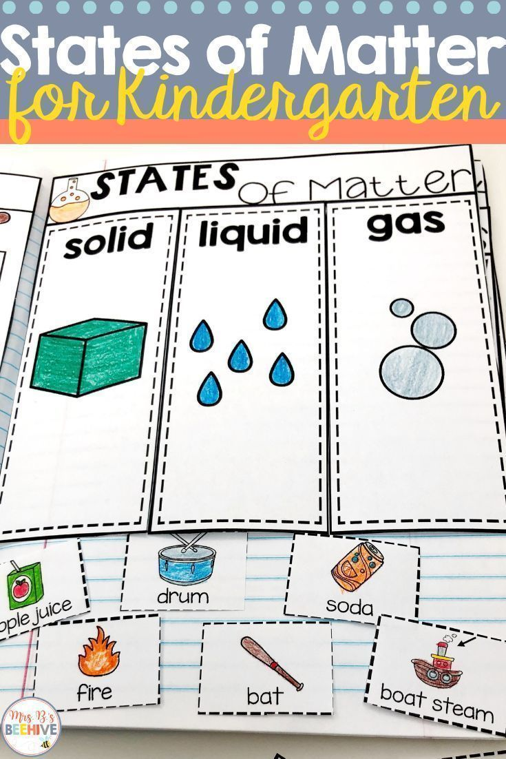 Kindergarten Science Interactive Journals And A Freebie! | Preschool