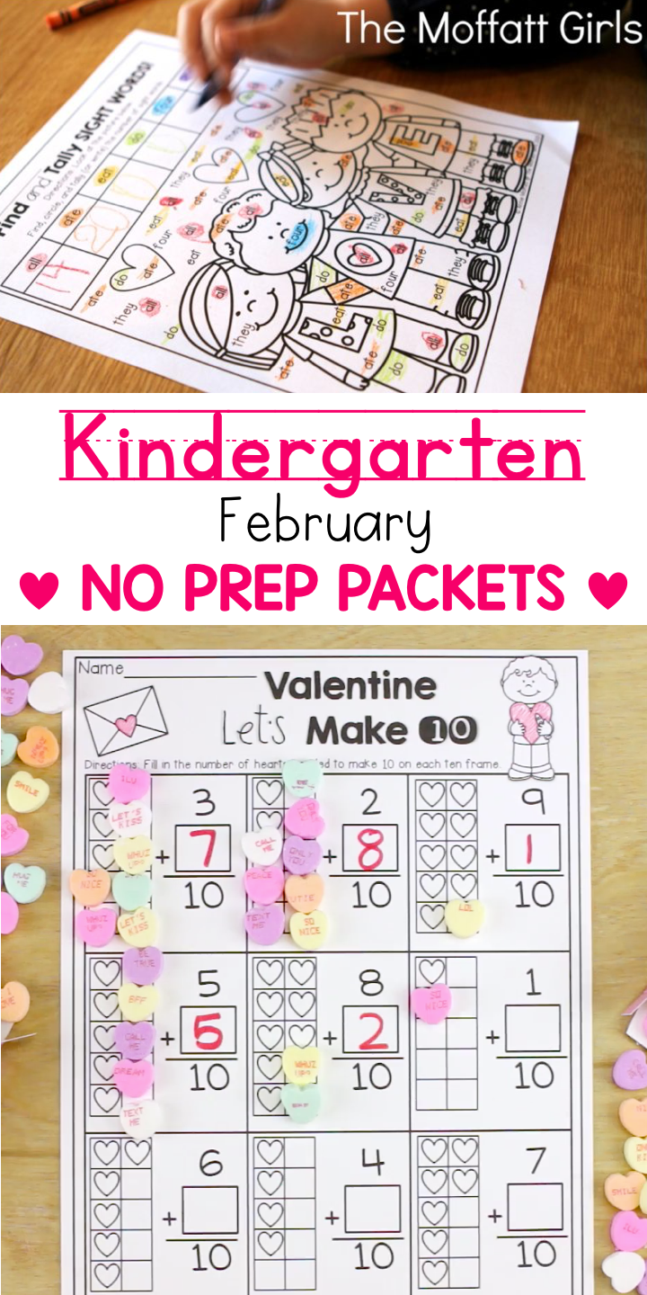 February Fun-filled Learning! | Kindergarten Valentine's Day