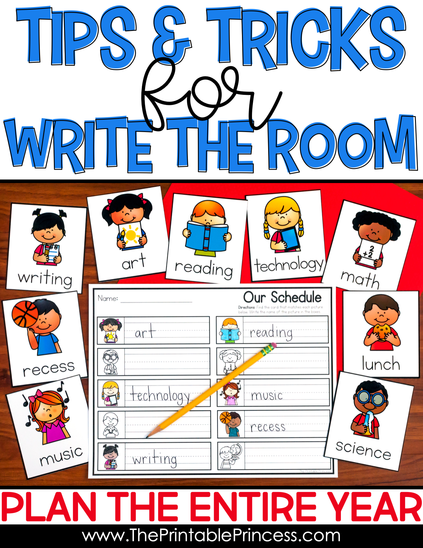 Write The Room Tips And Tricks | Literacy In Kindergarten