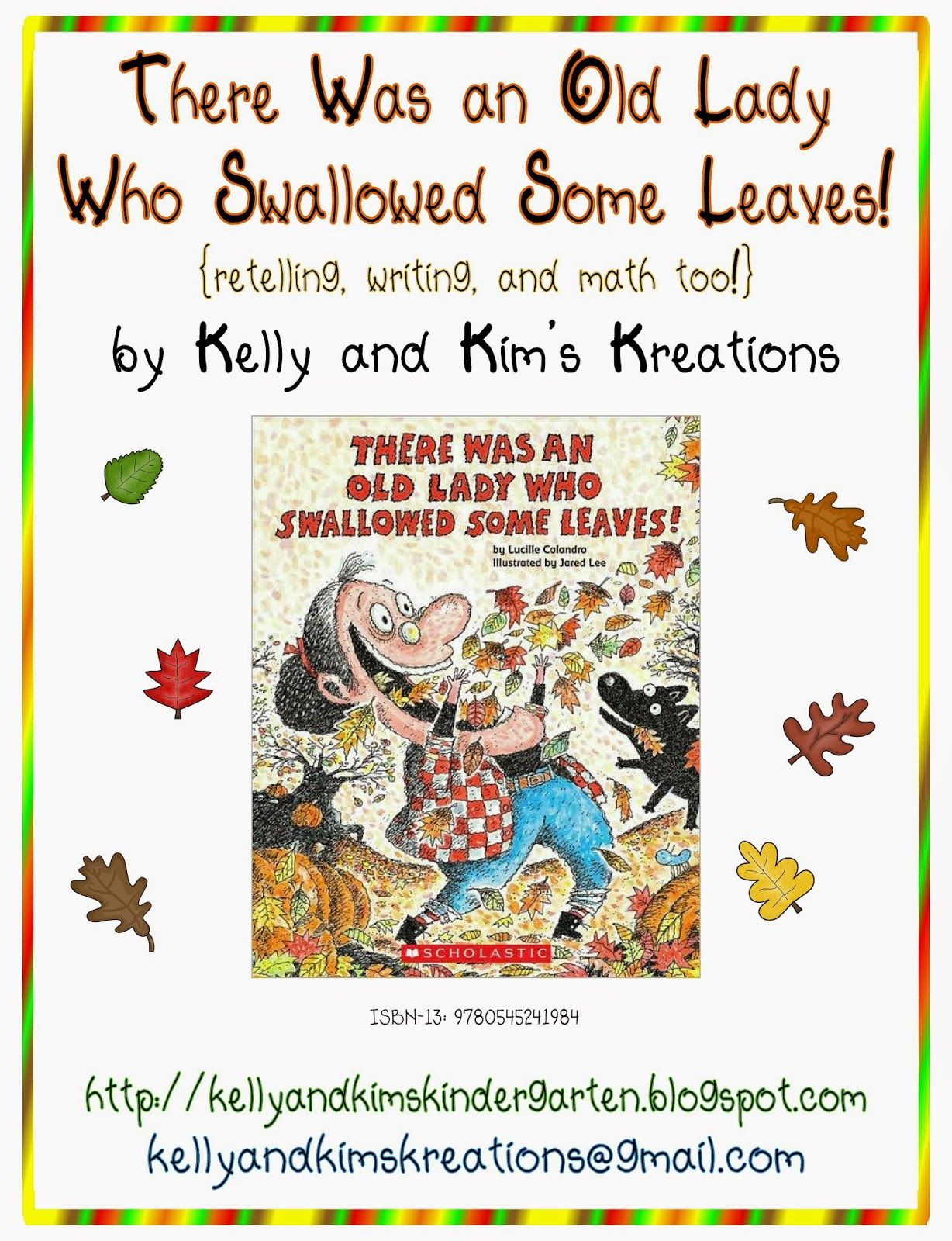 Kelly And Kim's Kindergarten Kreations: There Was An Old