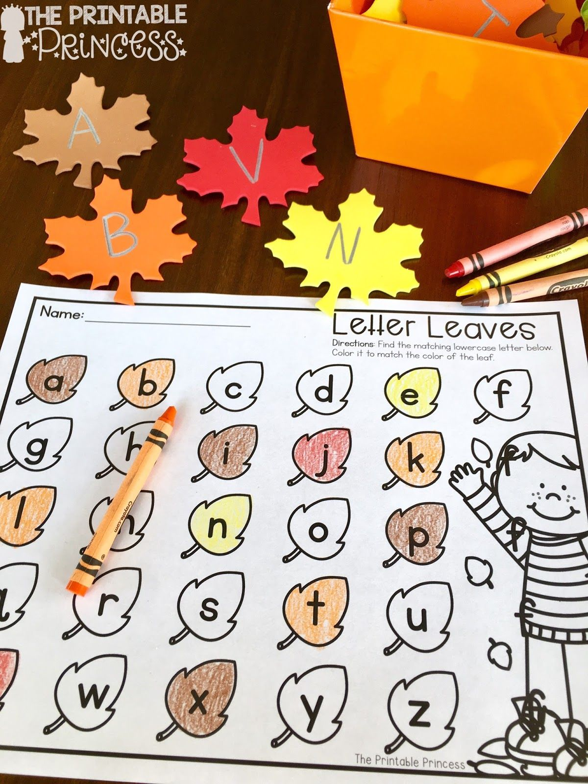 Easy Fall Centers For Kindergarten {plus Some Fall Freebies