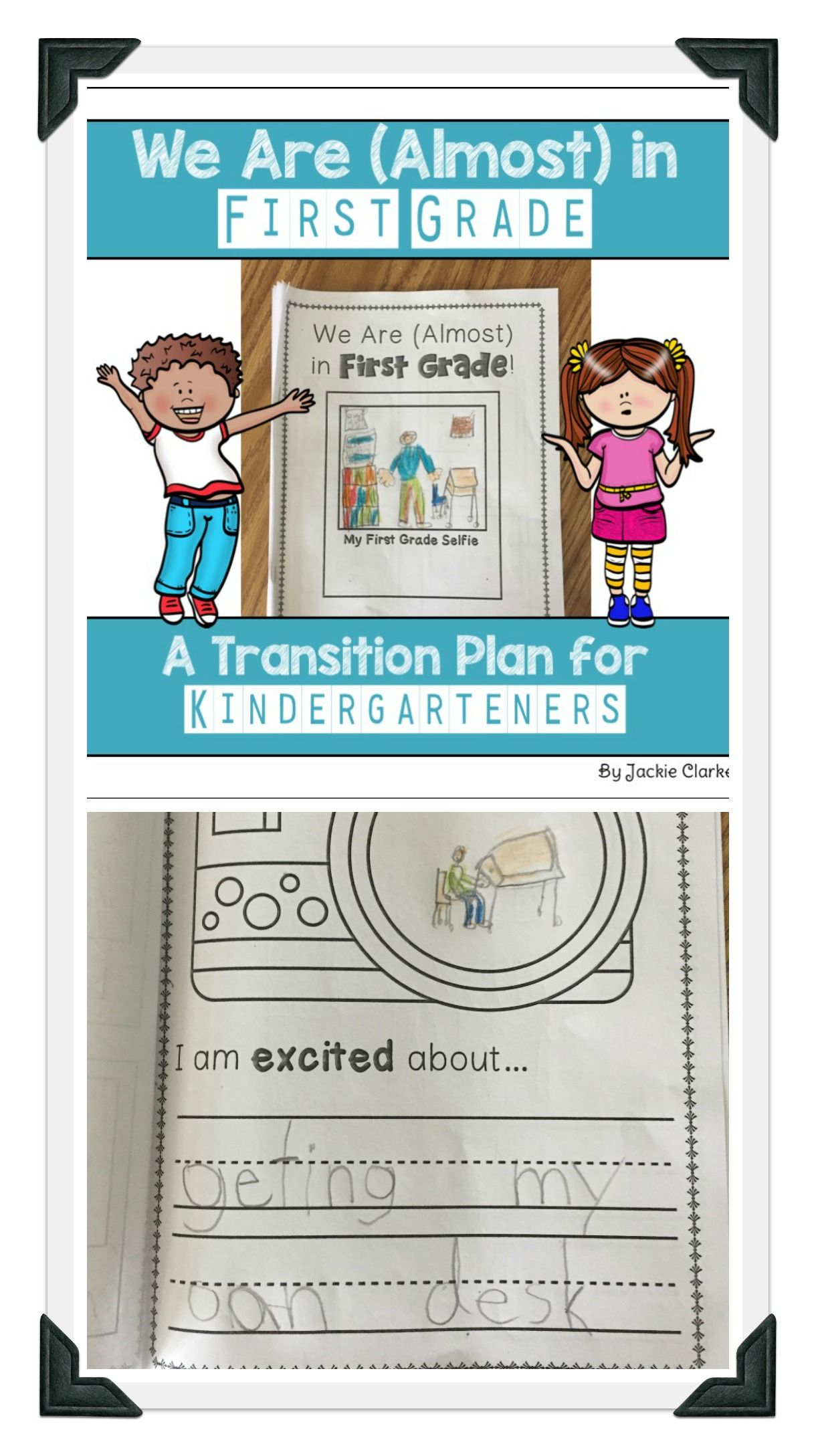 We Are (almost) In First Grade - Kindergarten End Of Year