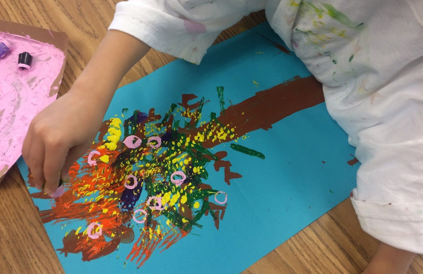 Found Object Printing In Kindergarten | In The Art Room