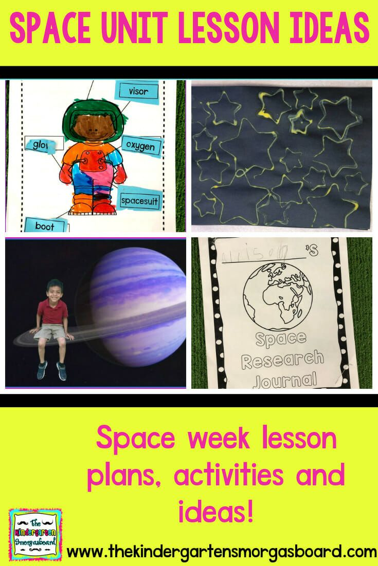 Space Unit: Space Research Project | The Kindergarten Smorgasboard