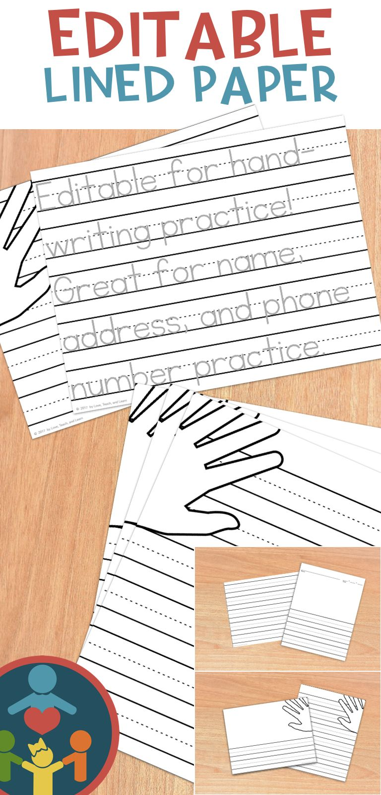 Kindergarten Primary Lined Paper : Print | All Things