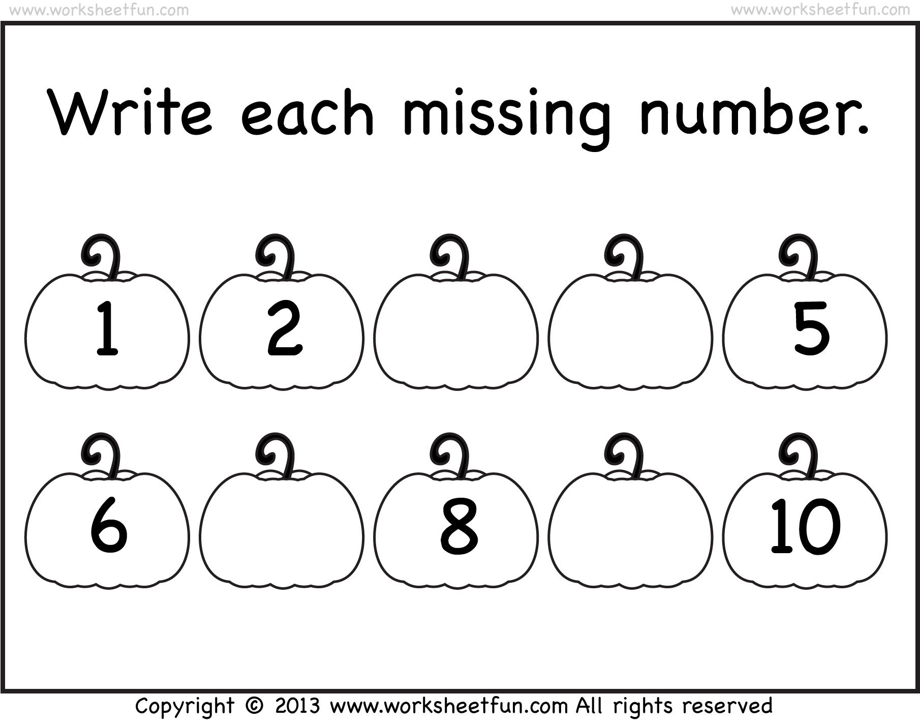 Halloween Worksheets | Kindergarten | Kindergarten