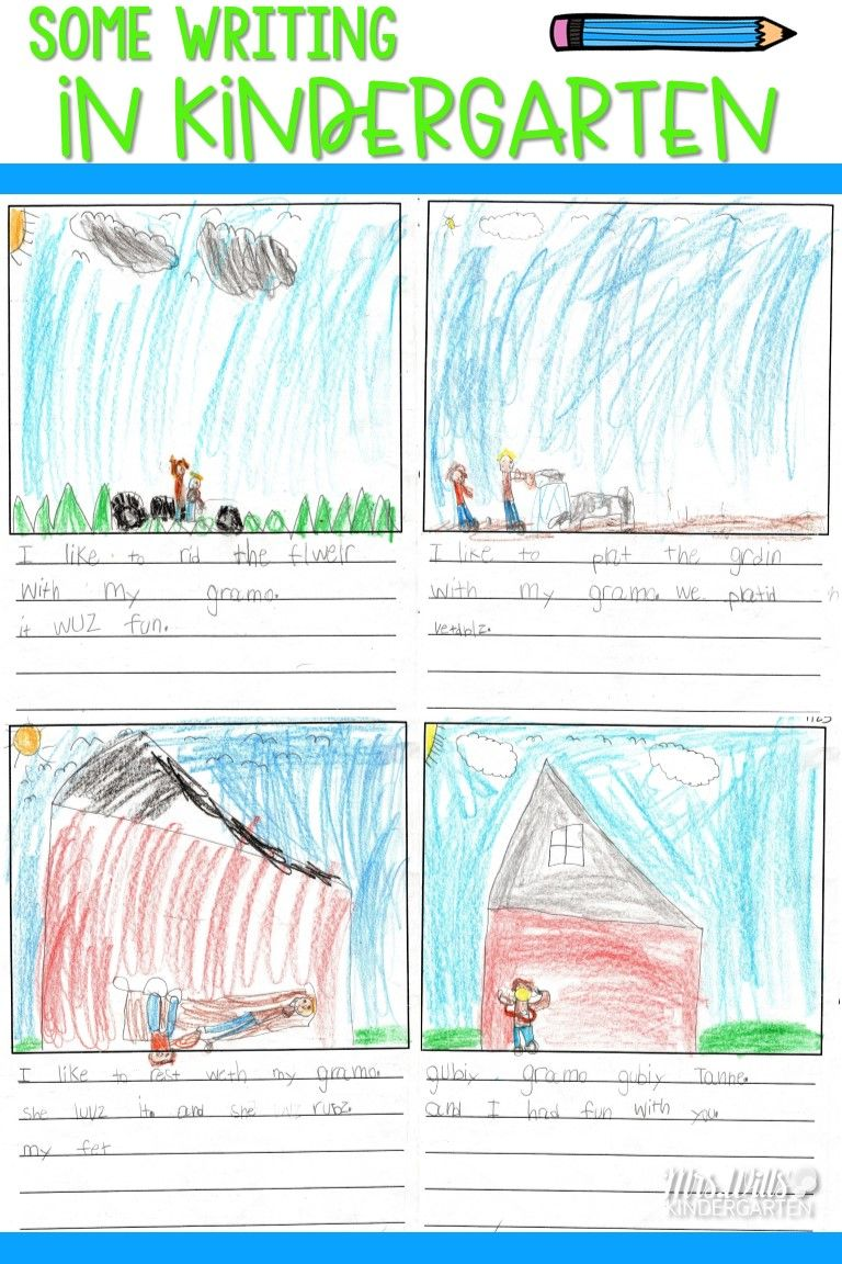 Some Kindergarten Writing Samples | Blog It! Mrs Wills
