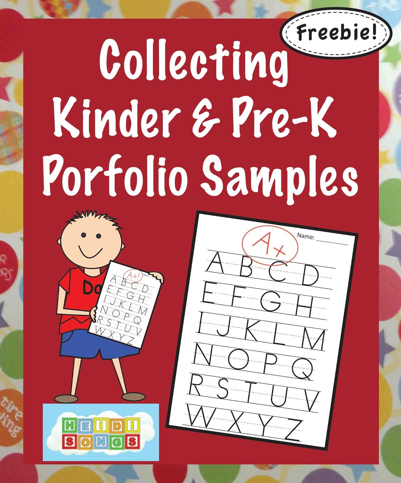 Collecting Kindergarten Portfolio Samples, And The What To
