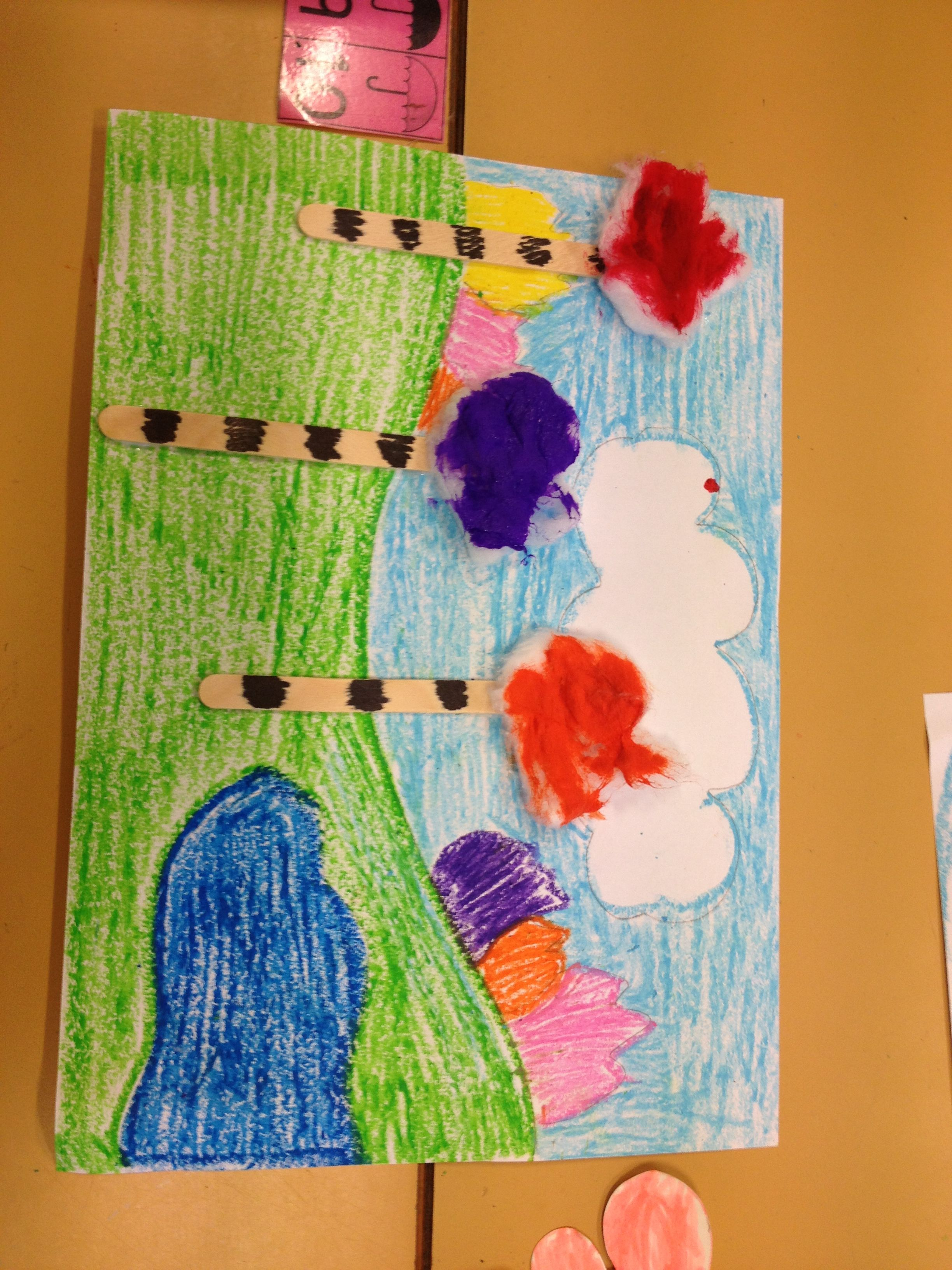 Lorax Art Kindergarten Clean Environment | Kindergarten Art