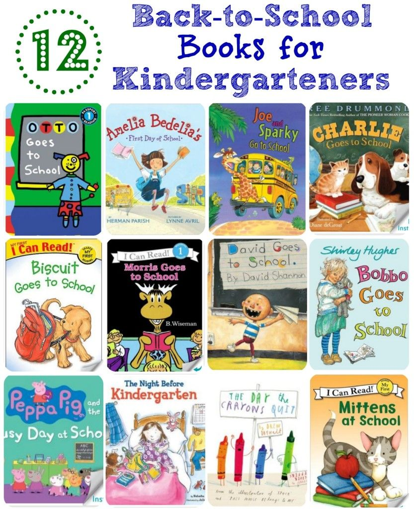 12 Back-to-school Books For Kindergarteners | Kindergarten