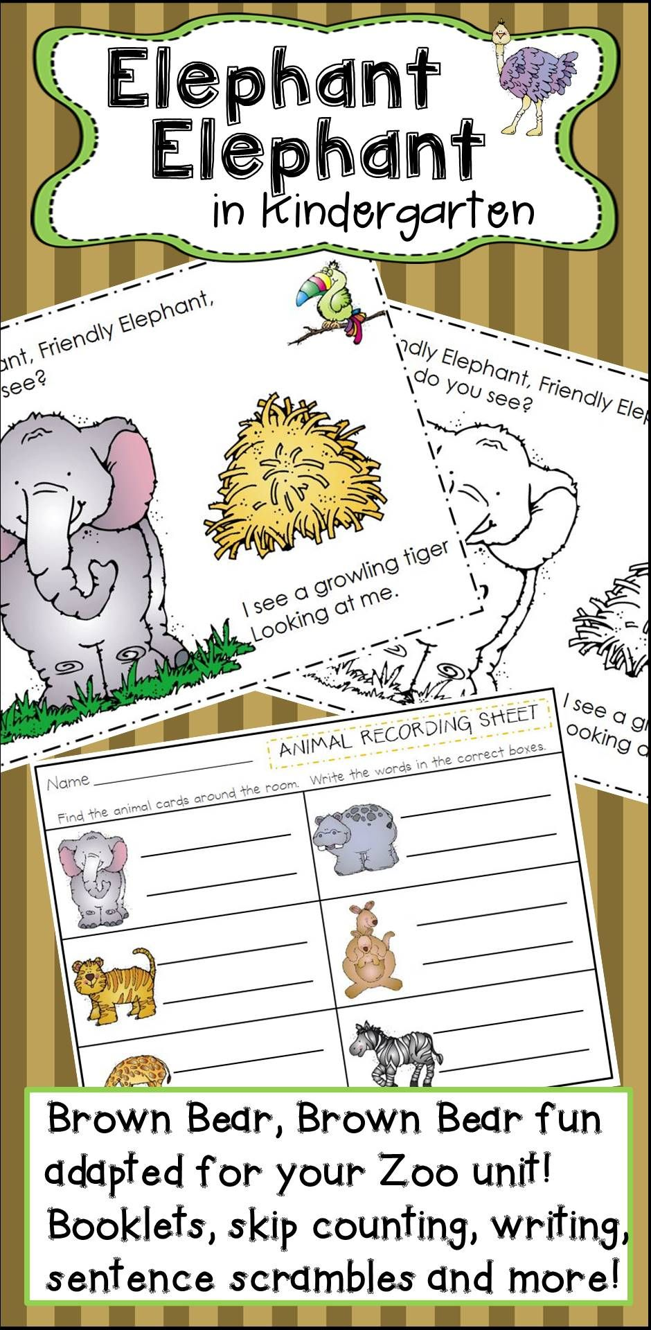 Elephant Elephant Activities For Kindergarten | Kindergarten