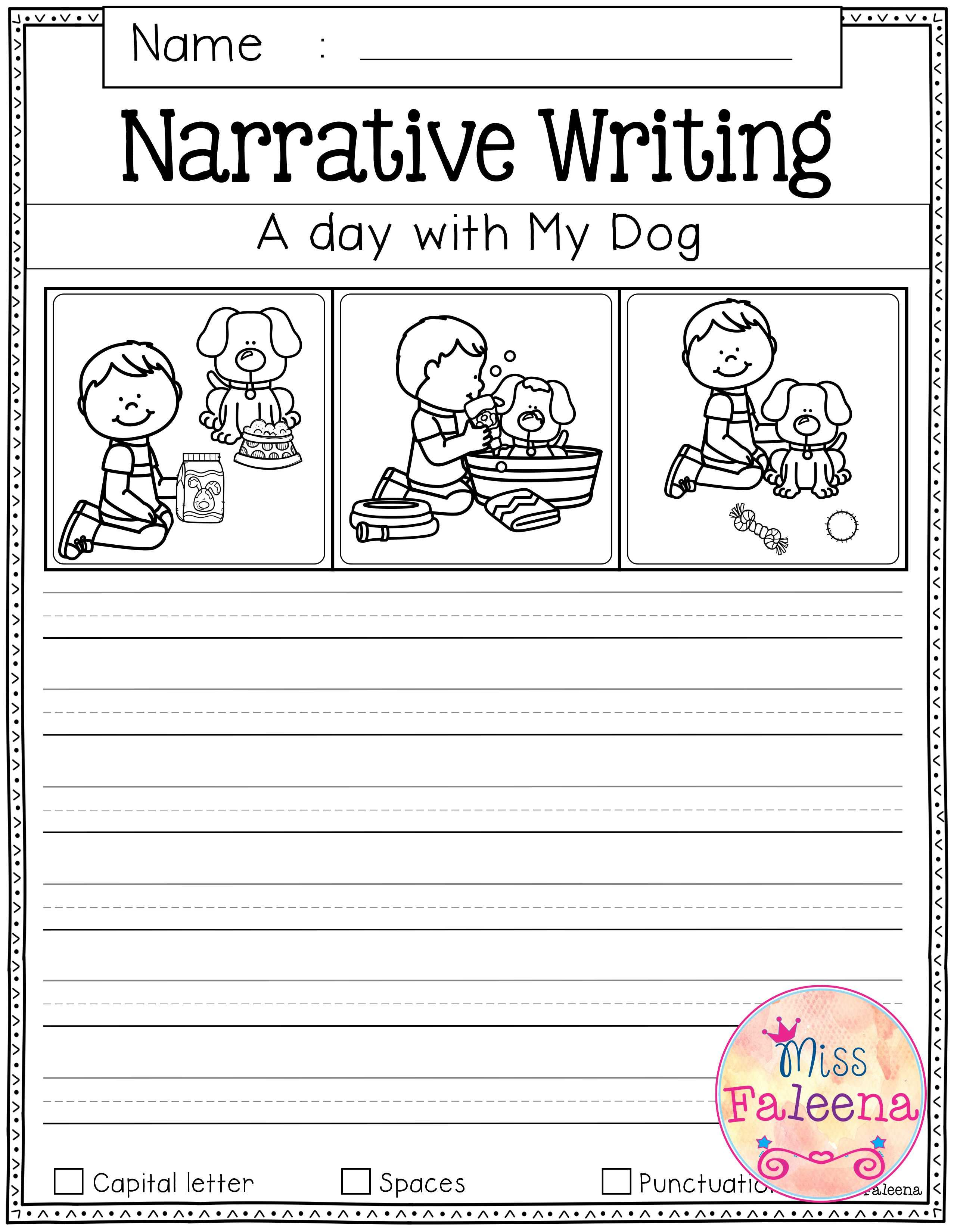 Free Writing Prompts | First Grade Writing, Kindergarten